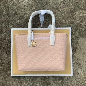 Michael Kors Carry All Medium Ballet Pink Tote